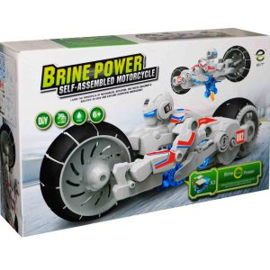 EIT BRINE POWER SELF ASSEMBLED MOTORCYCLE